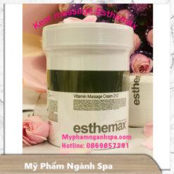 Kem massage Collagen Esthemax